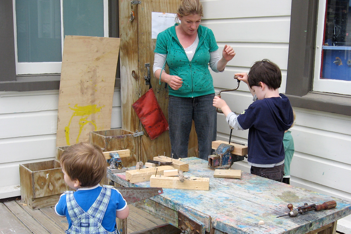 Woodwork at Playcentre