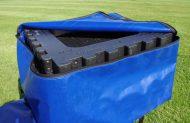 Kitcamp weatherproof storage bags.