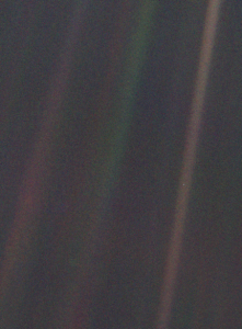 Pale Blue Dot from Voyager 1